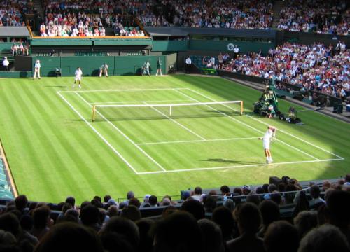 tennis à Wimbledon
